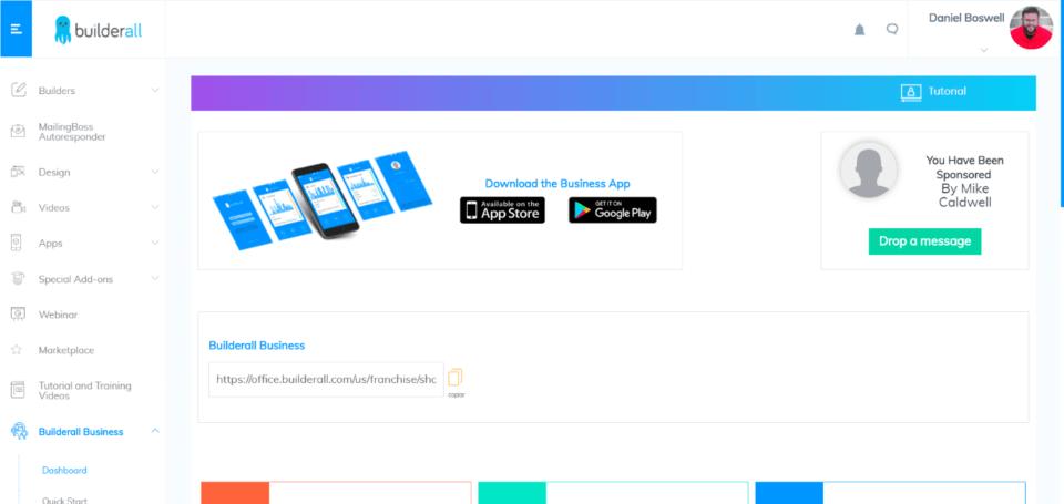 BuilderAll Affiliate Program Dashboard