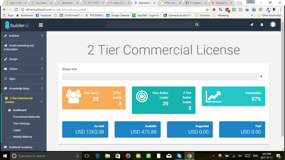 BuilderAll Review 2-Tier License