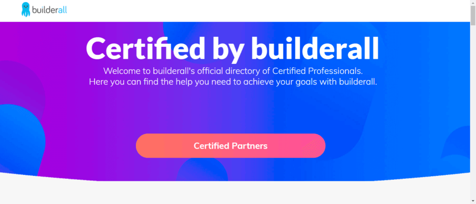 BuilderAll Review Certified Partners