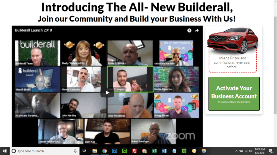 BuilderAll Review Webinar Screenshot