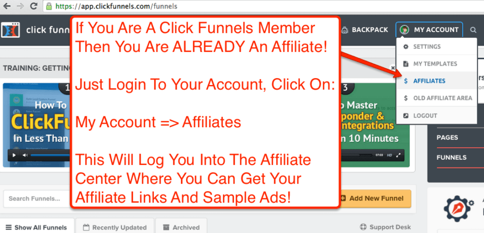 ClickFunnels Users Are Already Affiliates