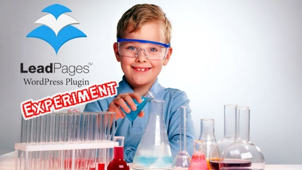 The LeadPages WordPress Plugin Experiment