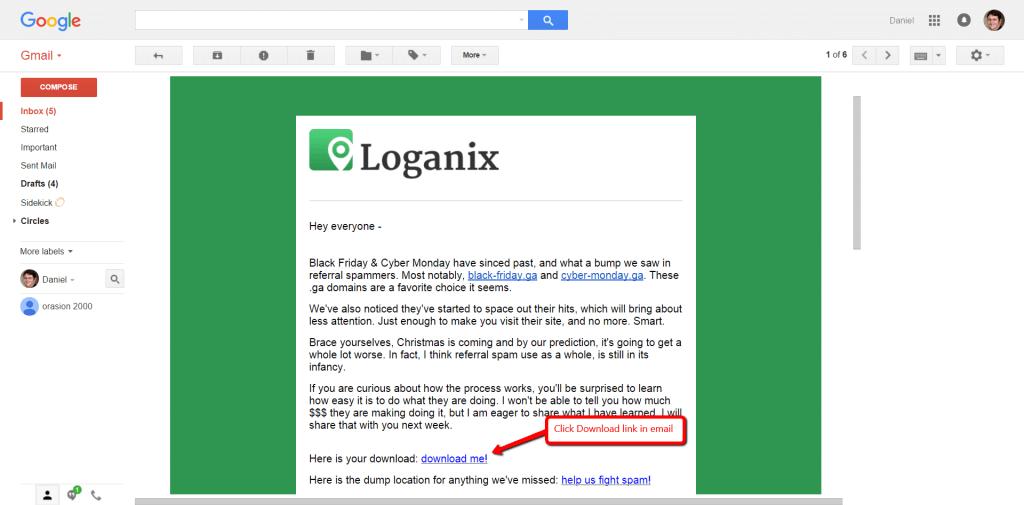 Loganix Email Update