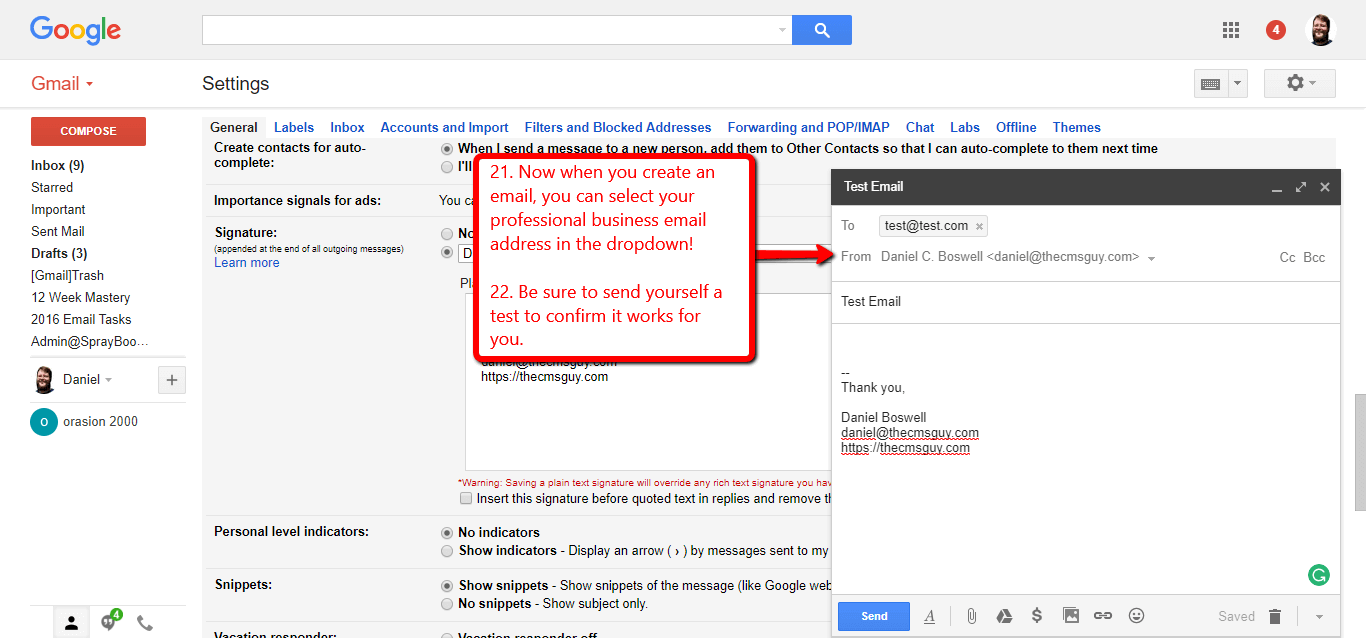 how to get a gmail business account