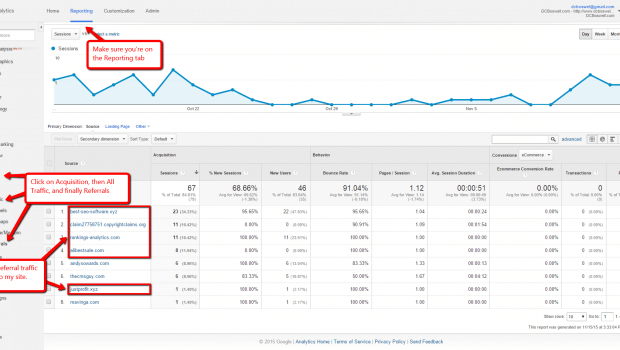 Block Referrer Spam In Google Analytics With This Free Tool